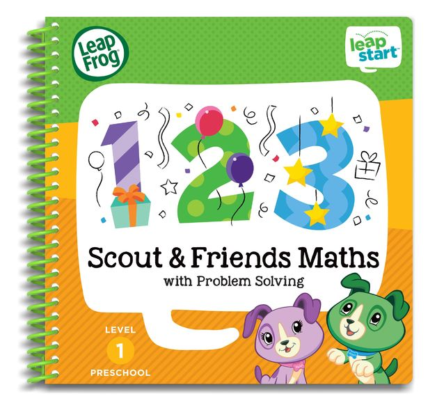Leapstart: Scout & Friends Math - Activity Book (Level 1)