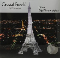 Crystal Puzzle - Black Eiffel Tower