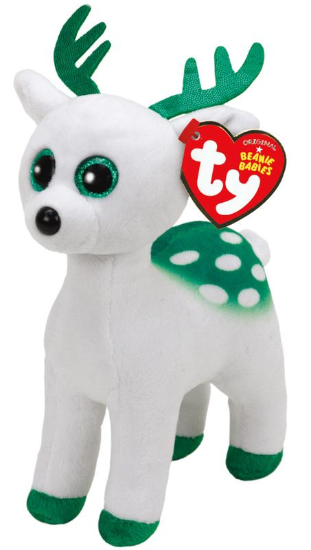 Ty Beanie Babies Peppermint Reindeer (Christmas)