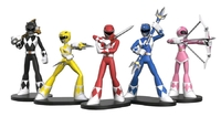 Power Rangers - HeroWorld Figures (5-Pack)
