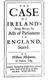 The case of Ireland's being bound by acts of parliament in England, stated