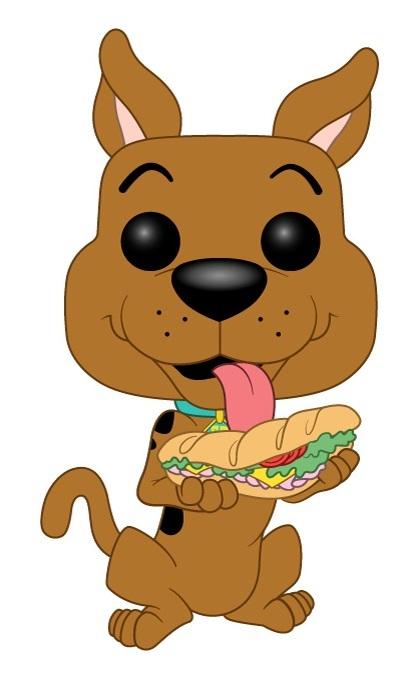 Scooby Doo (with Sandwich) - Pop! Vinyl Figure image