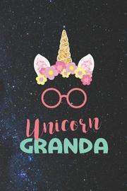 Unicorn Granda by Day Writing Journals
