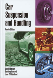 Car Suspension and Handling by Donald Bastow image