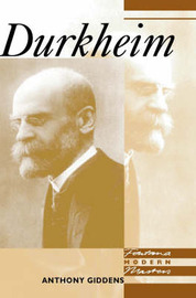 Durkheim by Anthony Giddens image