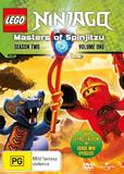 Lego Ninjago - Masters Of Spinjitzu - Season 2 Volume 1 on DVD