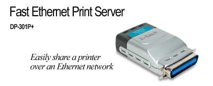 D-Link  1 PORT E/NET PRINT SERVER