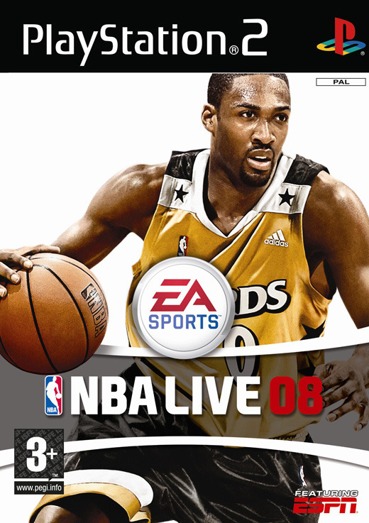 NBA Live 08 for PlayStation 2