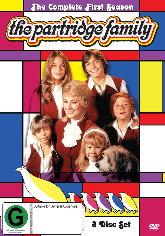 The Partridge Family - Season 1 on DVD