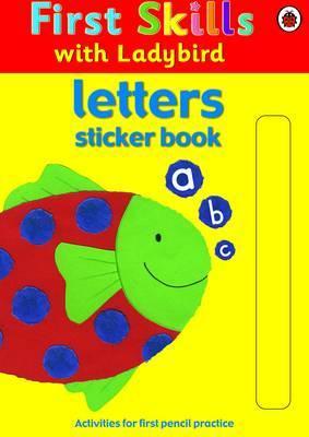 Letters Sticker Book