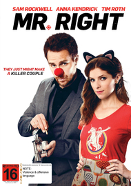 Mr Right on DVD image
