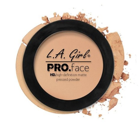LA Girl HD Pro Face Powder - Buff image