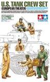 Tamiya 1/35 US Tank Crew Set (European Theater) - Model Kit