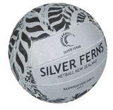 Gilbert Silver Ferns Supporter Netball (Size 5)