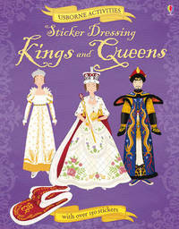 Sticker Dressing Kings and Queens by Ruth Brocklehurst