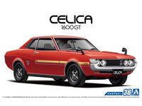 Aoshima: 1/24 Toyota TA22 Celica 1600GT 1972 Model Kit