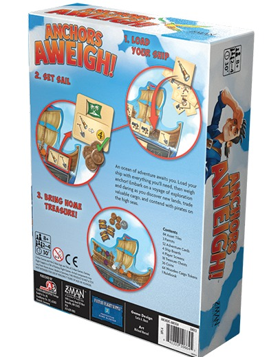Anchors Aweigh! - Board Game image