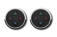 PlayStation: Official Symbols - Cufflinks