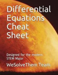 Differential Equations Cheat Sheet by Wesolvethem Team