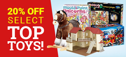 20% off Select Top Toys!