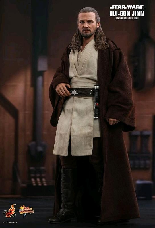 """Star Wars: Qui-Gonn Jinn - 12"""" Articulated Figure"""