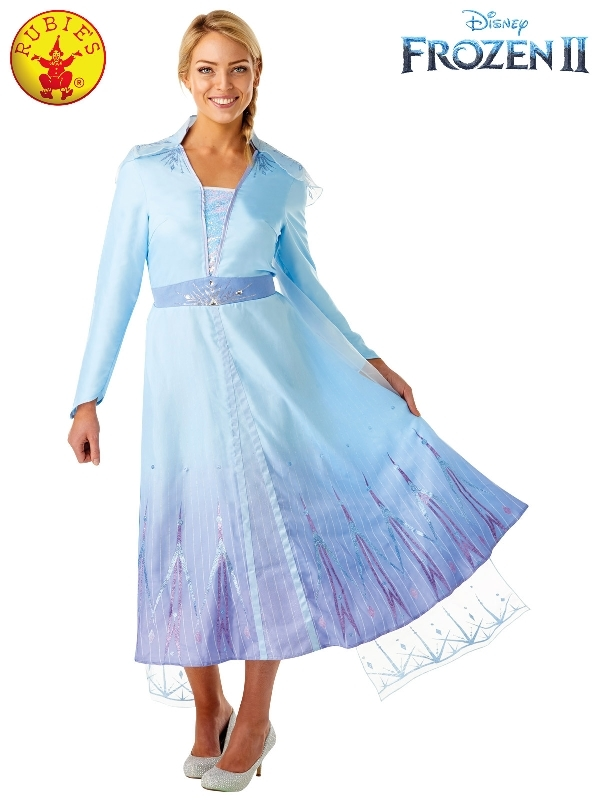 Rubie's: Frozen 2 - Elsa Deluxe Adult Costume (Medium)