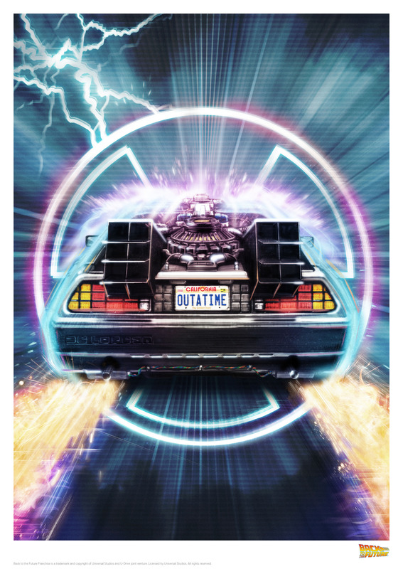 Back to the Future: Premium Art Print - Out-A-Time