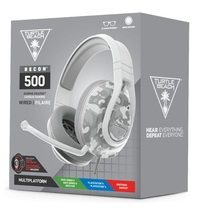 Turtle Beach Recon 500 Wired Gaming Headset - Arctic Camo for Switch, PS5, PS4, Xbox Series X, Xbox One