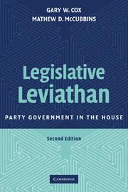 Legislative Leviathan by Gary W Cox