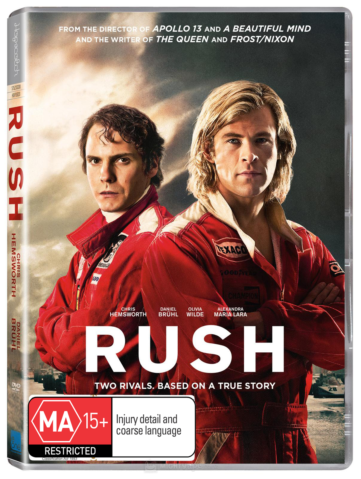 Rush on DVD image