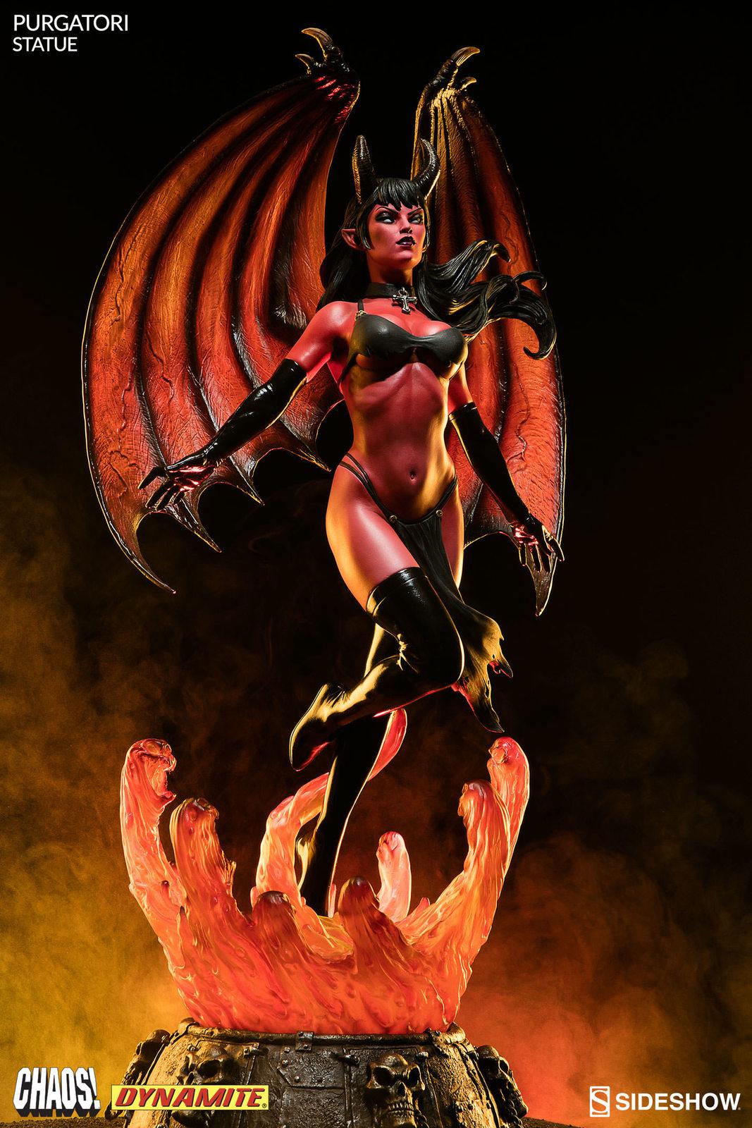"Chaos! Comics: Purgatori - 22"" Statue image"