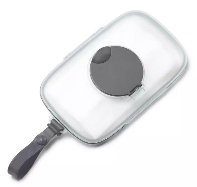 Skip Hop: Grab & Go Snug Seal Wipes Case - Grey