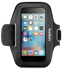 Belkin - Sport-Fit Armband for iPhone 6 (Black)
