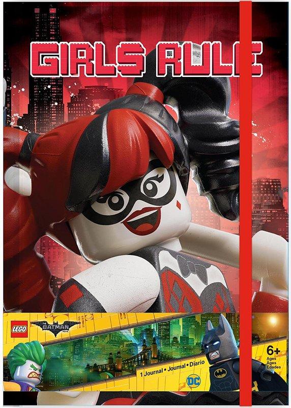 The LEGO Batman Movie: Themed Hardback Journal - Girls Rule