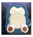 Pokemon: Snorlax - Plush Side Bag