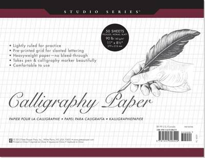 Calligraphy Paper Pad (Studio Series)