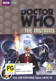 Doctor Who: The Mutants on DVD