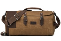 Troop London: Nomad Holdall Duffel Bag - Camel