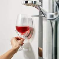 Sipski Bath & Shower Wine Holder - Marble