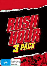 Rush Hour 3 Pack (Rush Hour / Rush Hour 2 / Rush Hour 3) (3 Disc Box Set) on DVD