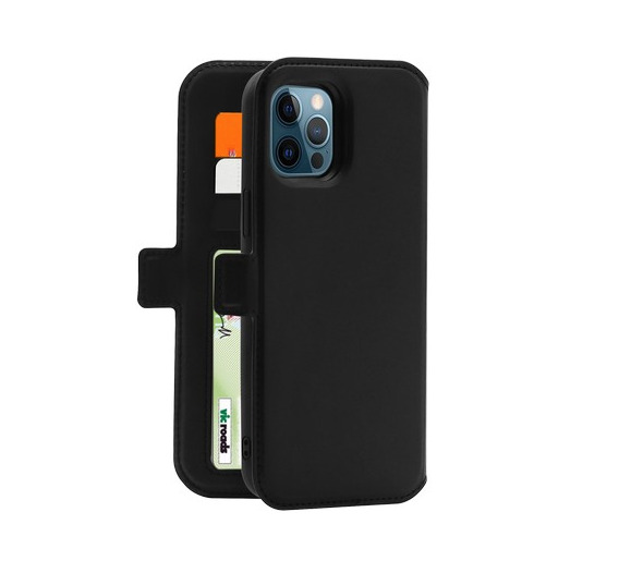 3sixT NeoWallet for iPhone 12 Pro Max - Black