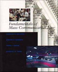 Fundamentals of Mass Communication Law by Donald M. Gillmor image
