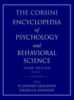 The Corsini Encyclopedia of Psychology and Behavioral Science: v. 4 by Raymond J. Corsini image
