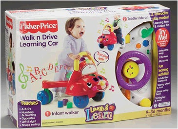 Fisher Price L&L Learning Car