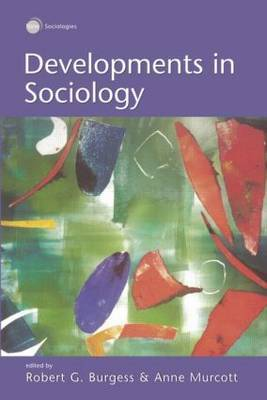 Developments in Sociology by Robert Burgess image