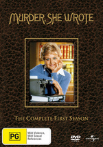 Murder, She Wrote - Complete Season 1 (6 Disc Set) on DVD