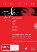Sex, Censorship And The Silver Screen - Collectors Edition (3 Disc Set) on DVD