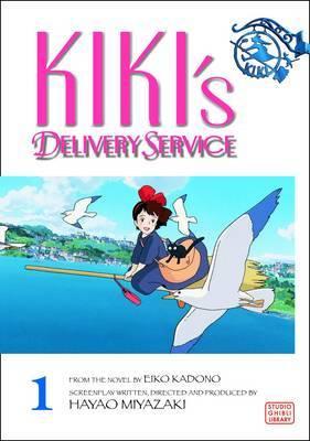 Kiki's Delivery Service Film Comic, Vol. 1 by Hayao Miyazaki