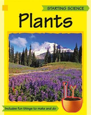 Amazing Science: Plants by Sally Hewitt image