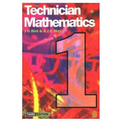 Technician Mathematics 1 by John O. Bird image